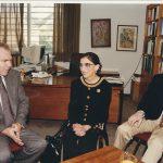 RBG במשרד 1994 הדיקאן עם